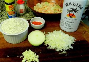 Ingredientes para o Risoto