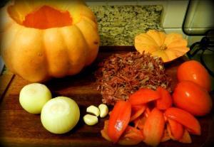 Ingredientes da Moranga