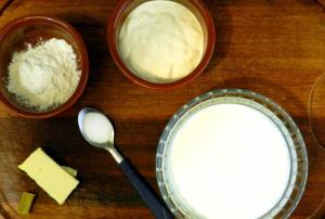 Ingredientes molho branco
